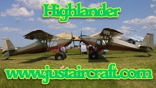 Just Aircraft Highlander light sport aircraft.