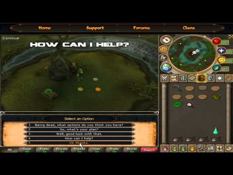 Runescape EOC Quest Guide – Nature Spirit [HD]