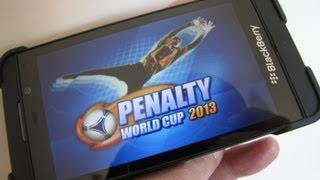 Penalty World Cup 2013 for BlackBerry 10