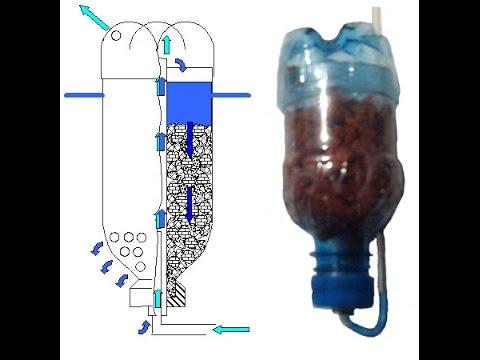 Фильтр для очистки воды сделать своими руками