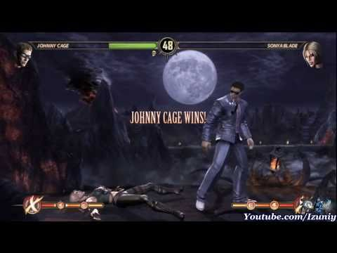 Mortal Kombat 9 Walkthrough Story Mode Chapter 1 Johnny Cage 2011 - HD