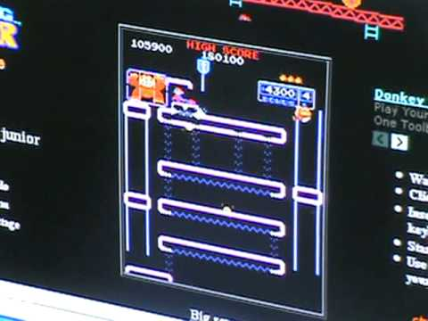 My Donkey Kong Junior arcade strategies with commentary,tips, and tricks