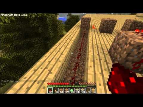 BGM:Minecraft ตอนที่6 ทำหลอดไฟกัน(ติดยาว)#1