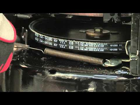 How to Replace a Snowblower Auger Belt