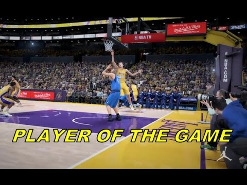 NBA 2K16 PLAYERS OF THE GAME CONTRA O DALLAS MAVERICKS