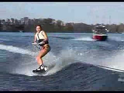 Super hot Supercross wakeboard girl Video