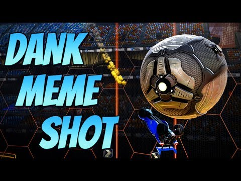 DANK MEME SHOT | Goal of the Day #11 ( Rocket League Best Goals / Highlights )