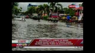 SONA: Butuan City, lubog sa baha; Mindanao, patuloy na inuulan dahil sa LPA