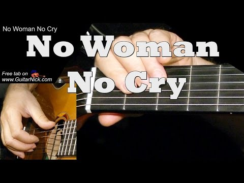 NO WOMAN NO CRY: Easy Guitar Lesson + TAB + CHORDS by GuitarNick