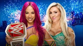 Sasha Banks vs Charlotte Flair Fantasy Match Highlights
