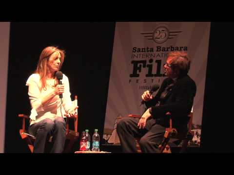 Kathryn Bigelow receives the 2010 Outstanding Director of the Year Award for The Hurt Lock. Q&A Moderated by SBIFF Director Roger Durling, award presented by Academy Award Nominated Director ...