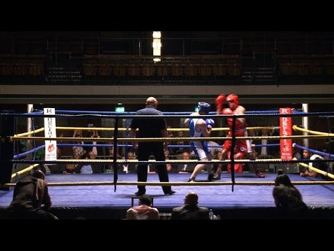 London's City workers battle for boxing glory