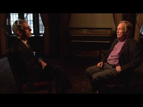 Television legend Dick Cavett in RICHARD BELZER'S CONVERSATION