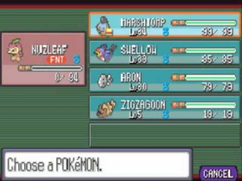 Pokemon Ruby Walkthrough 12 ; Petalburg City Gym and HM Surf