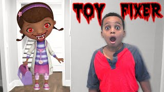 DOC MCSTUFFINS TWISTED ANKLE CHECK UP Bad Kids Shasha and Shiloh- Onyx Kids
