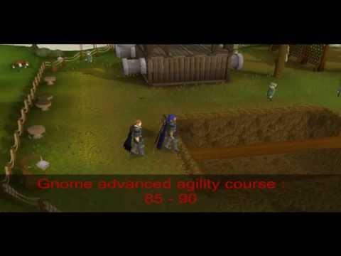 Runescape Agility Guide 1-99 in HD!