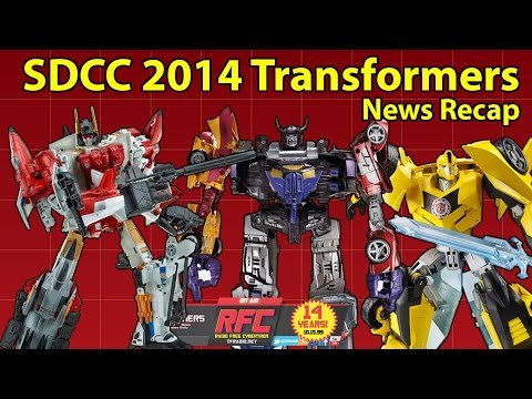Transformers / SDCC 2014 News Recap: Generations Combiners! Robots in Disguise!