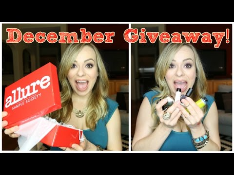 December Sample Society Giveaway! video