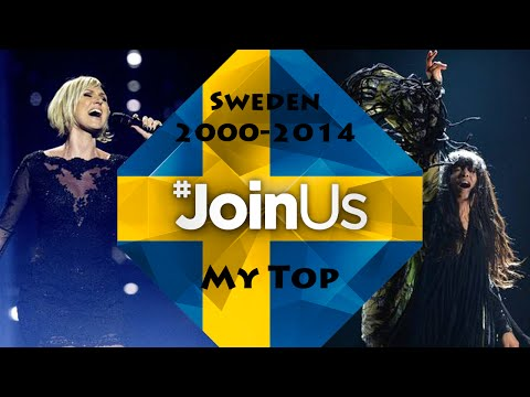 ESC Sweden 2000-2014: My Top