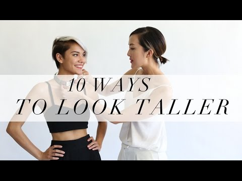 10 Ways To Look Taller | Chriselle Lim