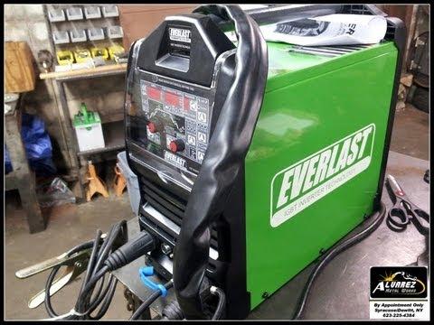 Everlast PowerTIG 210 EXT - First Impression Review