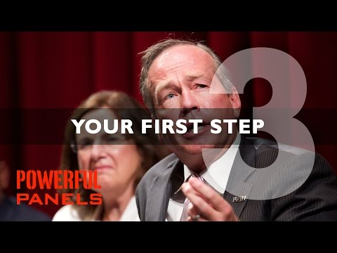 How to Moderate a Panel Discussion: Your First Step Video #3