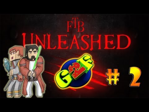 Minecraft | Feed the Beast Unleashed | # 2 – Into the mines.