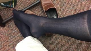 MashUp: Nylon Dress Socks