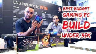 [HINDI] Best Budget Gaming PC build under 35000 Rupees in India!