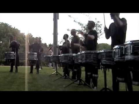 Blue Devils 2008- Trip-Accent Paradiddle