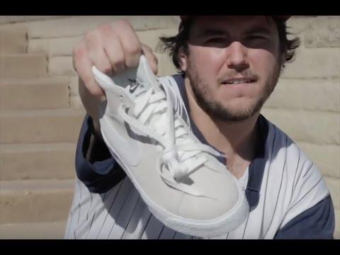 100 Kickflips In The Nike SB Blazer Premium With Devin Porter