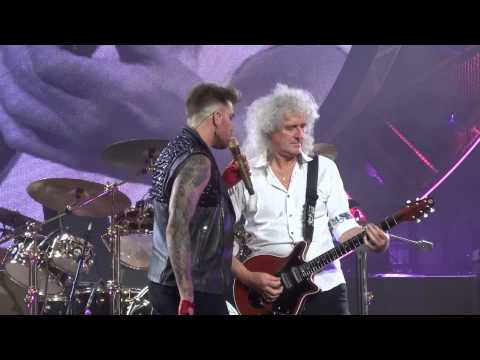 Crazy Little Thing Called Love - Queen & Adam Lambert - Izod Center - E. Rutherford - July 23 2014