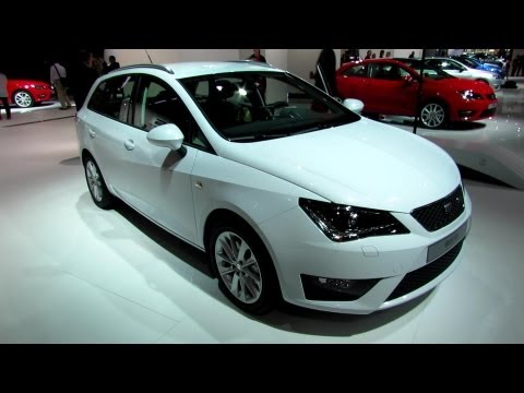 2013 Seat Ibiza ST. Экстерьер и интерьер - 2012 Paris Auto Show
