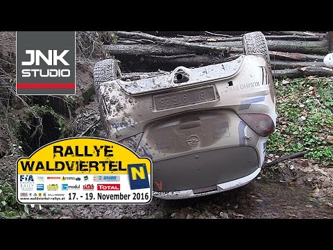Rallye Waldviertel 2016 (crash & action)