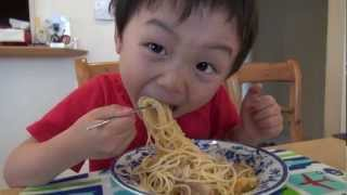 Eat get greedy Spaghetti carbonara (Japanese Food)