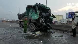 Tai nạn kinh hoàng,  phải dùng máy cắt phá cabin đưa thi thể tài xế ra ngoài | NLĐTV
