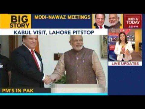 PM Modi To Meet Nawaz Sharif In Pakistan
