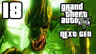 GTA 5 Next Gen Walkthrough Part 18 - Xbox One / PS4 - DID SOMEBODY SAY YOGA? - Grand Theft Auto 5