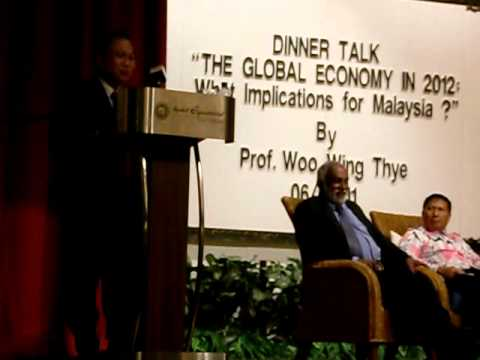 "MPKj DinnerTalk4.2: ""The Global Economy in 2011: What implications for Malaysia?"" 220611"