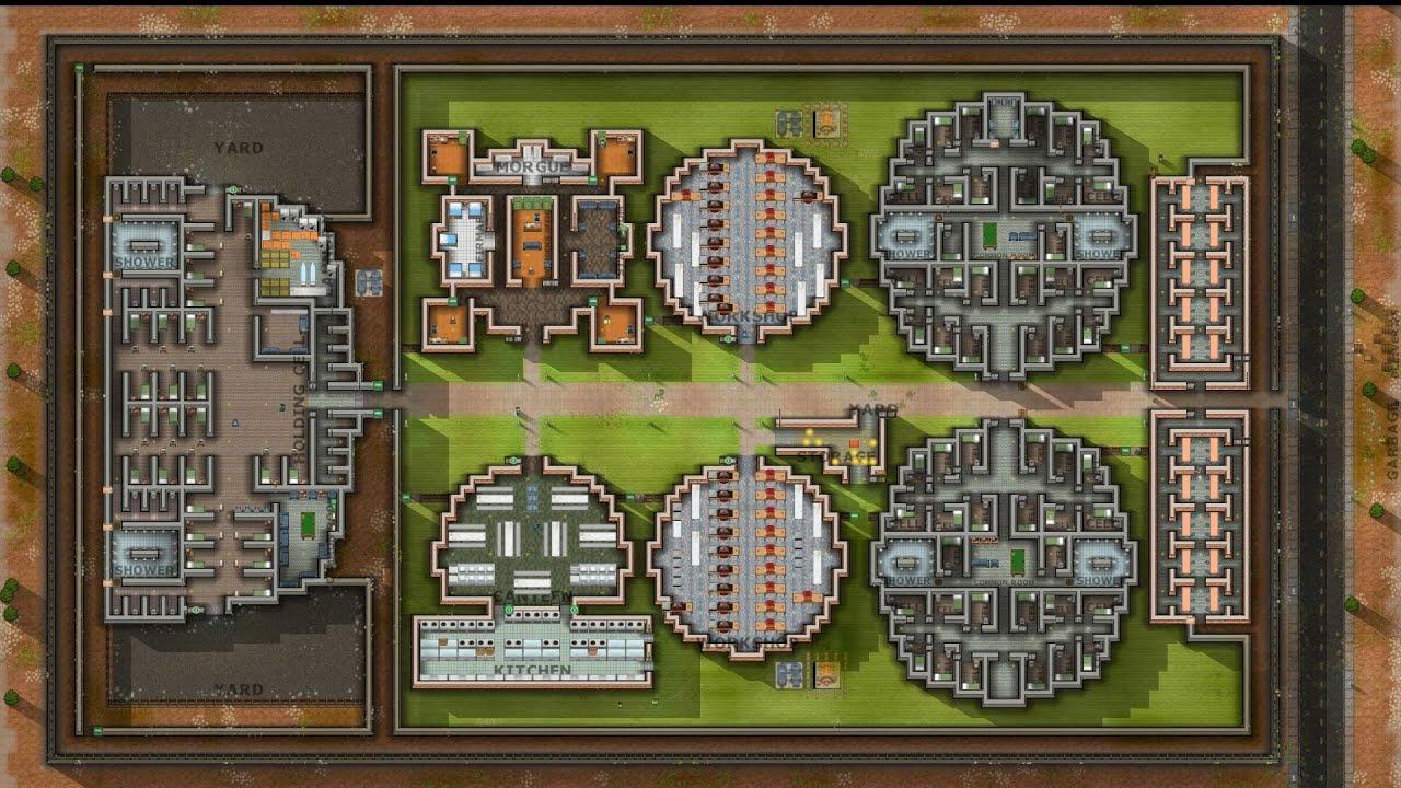 prison architect a15c  timelapse 2