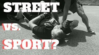 Myths about Streetfighting vs. Combat Sport