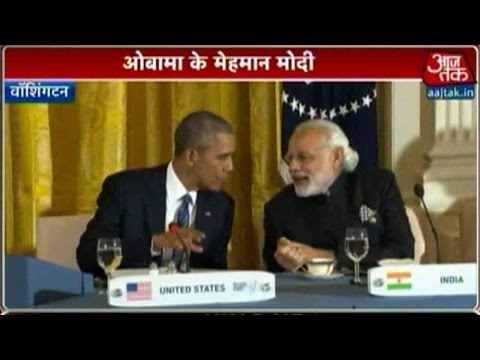 Nuclear Security Summit: PM Modi Sits Beside US President Obama At Dinner Party