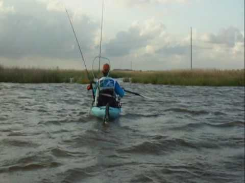 Kayak StakeOut Stik Demo - Clint Barghi