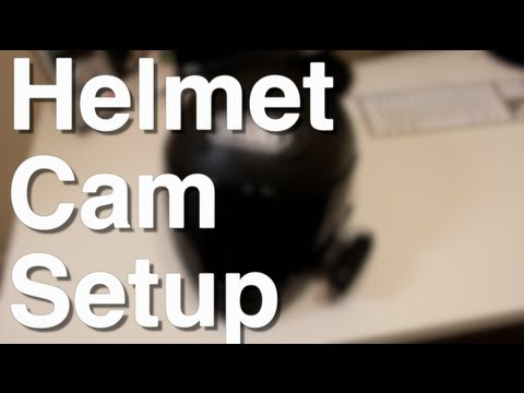 Helmet Cam Setup Motovlogging Helmet Cam Setup