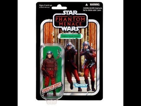 Star Wars Vintage Collection Naboo Royal Guard HD Action Figure Review | www.flyguy.net