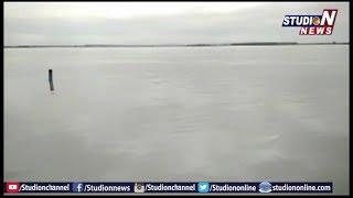 Water Flow Increased At Davaleshwaram Barrage