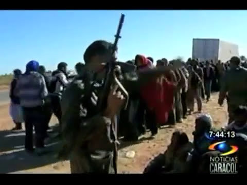 Amenazas de Gadafi