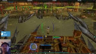 Lore of Nerds - world of warcraft Leveling a shaman US (day 1)