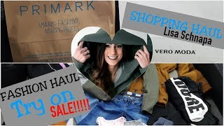 SHOPPING HAUL | TRY ON | DEUTSCH | FASHION HAUL | PRIMARK | ONLY | OUTLET | SALE |