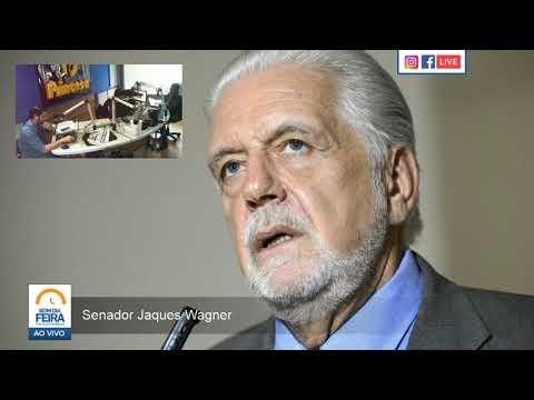 Senador Jaques Wagner fala ao Bom Dia Feira sobre pandemia e política brasileira